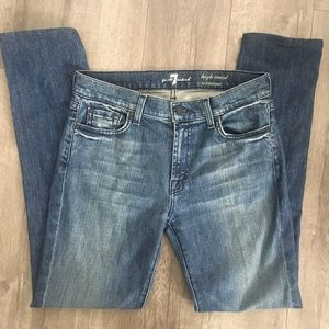 7 For All Mankind High Waist Roxanne Jeans